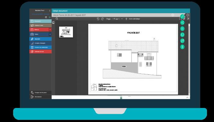 illustration PC avec solution youdoc adaptée aux communes